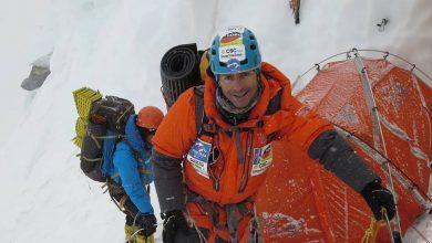 Photo of Mario Vielmo al Gasherbrum I. La ricca stagione in Karakorum