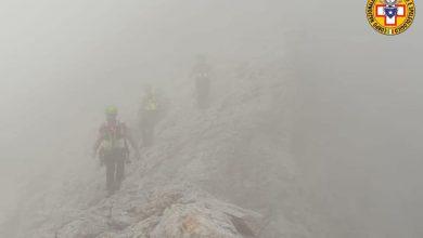Photo of Escursionisti bloccati dal temporale in ferrata nel Catinaccio, soccorsi nel maltempo