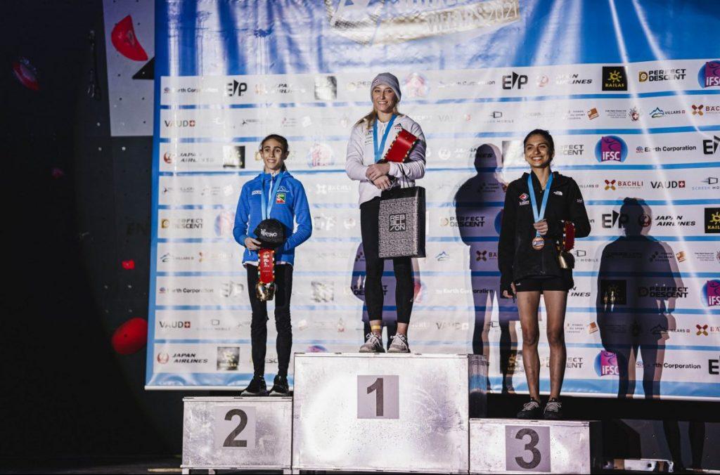 laura rogora, coppa del mondo di arrampicata sportiva