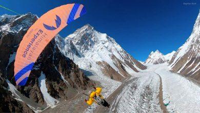 Photo of Il volo in parapendio dal Broad Peak, la rinuncia al Nanga e i progressi sul K2 e Gasherbrum