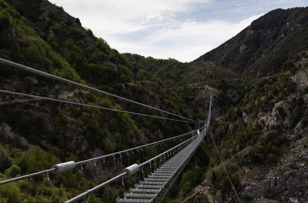 ponte tibetano, basilicata