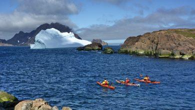 Photo of Della Bordella, Schüpbach e Welfringer in partenza per la Groenlandia