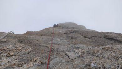 Photo of Dente del Gigante: alpinisti bloccati in condizioni meteo proibitive. Il Soccorso Alpino: consultate i bollettini