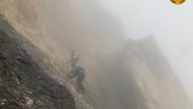 Photo of Tofana di Mezzo, recuperato escursionista bloccato dalla stanchezza