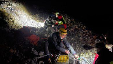 Photo of Valle Gesso. Alpinisti bloccati in parete su Punta Piacenza, recuperati nella notte
