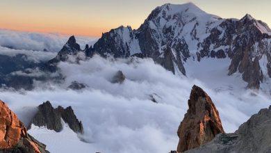 Photo of Alpinisti bloccati sul Dente del Gigante. Soccorsi in azione tra vento e nubi