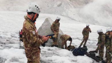 Photo of Il ghiacciaio dell'Adamello arretra e spuntano centinaia di bombe