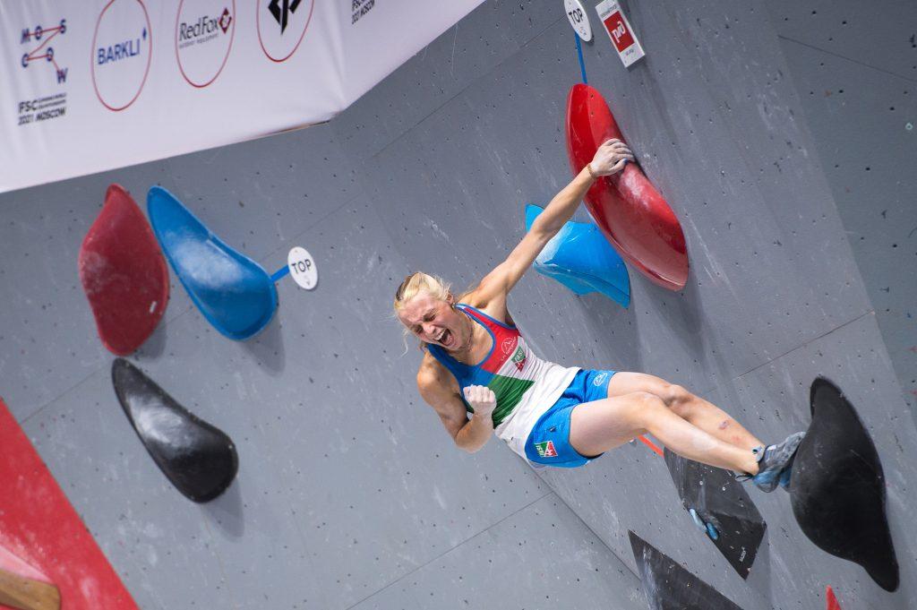 camilla moroni, arrampicata sportiva, campionati del mondo