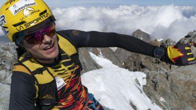 Photo of Michele Boscacci da record sul Piz Bernina