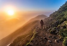 montagna, solitaria, sicurezza montagna