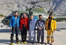 Photo of Rakaposhi, evacuati a 6200metri con l'elicottero i tre alpinisti bloccati in parete