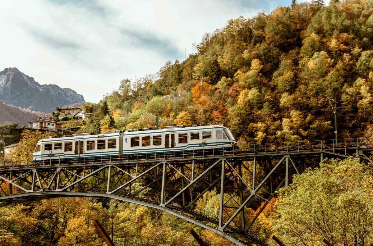 treno, foliage