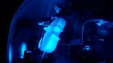 """Photo of """"N-ICE CELLO"""". Il viaggio di un violoncello di ghiaccio dalle Alpi al Mediterraneo"""