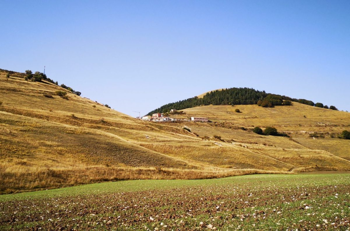 castelluccio di norcia, autunno, trekking