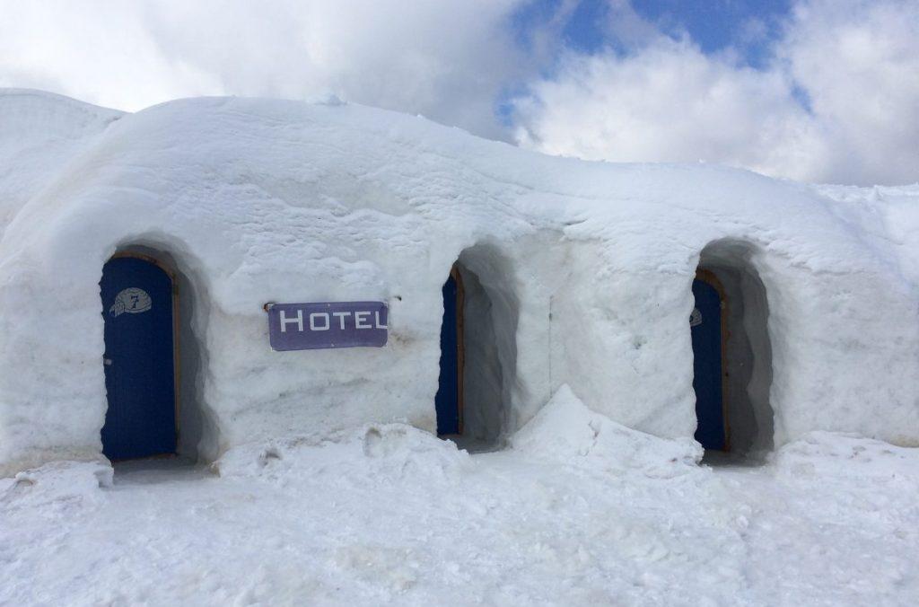turismo, smart working, igloo