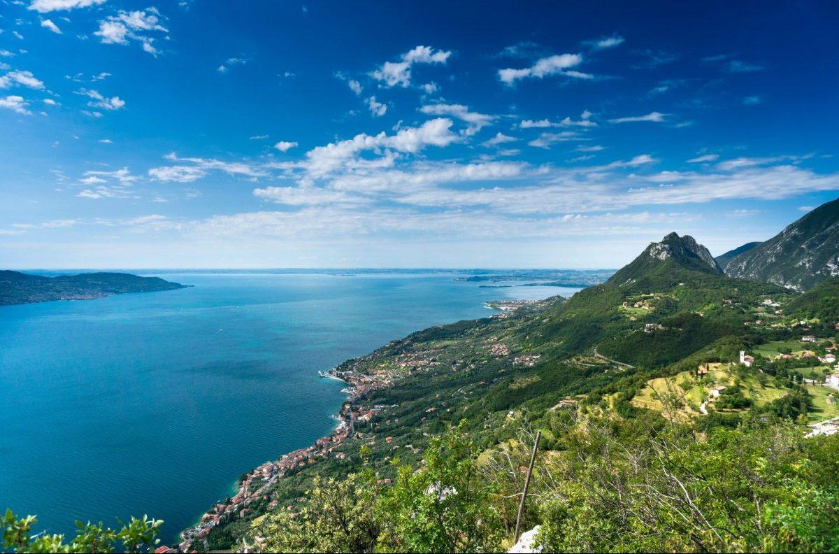 laghi alpini, lago di garda